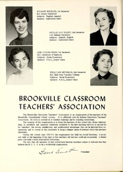 Page 14, 1957 Edition, Brookville High School - Brooklet Yearbook (Brookville, IN) online yearbook collection