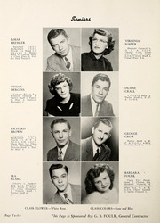 Page 16, 1949 Edition, Fremont High School - Vistula Yearbook (Fremont, IN) online yearbook collection