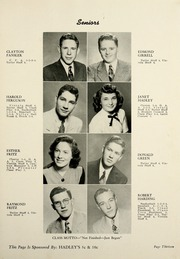 Page 17, 1949 Edition, Fremont High School - Vistula Yearbook (Fremont, IN) online yearbook collection