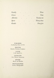 Page 6, 1952 Edition, Fremont High School - Vistula Yearbook (Fremont, IN) online yearbook collection