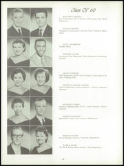 Page 10, 1960 Edition, Wood High School - Log Yearbook (Indianapolis, IN) online yearbook collection