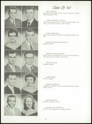 Page 12, 1960 Edition, Wood High School - Log Yearbook (Indianapolis, IN) online yearbook collection