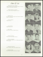 Page 15, 1960 Edition, Wood High School - Log Yearbook (Indianapolis, IN) online yearbook collection