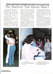 Page 14, 1981 Edition, Blue River Valley High School - Valhalla Yearbook (Mount Summit, IN) online yearbook collection