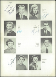 Page 10, 1956 Edition, Burris High School - Oracle Yearbook (Muncie, IN) online yearbook collection