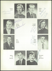 Page 14, 1956 Edition, Burris High School - Oracle Yearbook (Muncie, IN) online yearbook collection