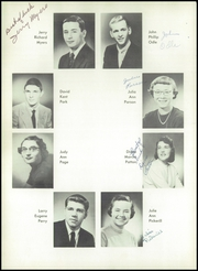 Page 16, 1956 Edition, Burris High School - Oracle Yearbook (Muncie, IN) online yearbook collection