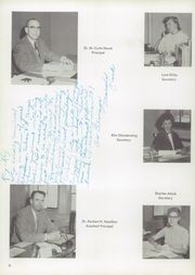 Page 10, 1957 Edition, Burris High School - Oracle Yearbook (Muncie, IN) online yearbook collection
