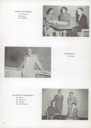 Page 12, 1957 Edition, Burris High School - Oracle Yearbook (Muncie, IN) online yearbook collection