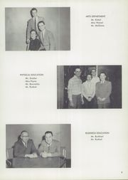 Page 13, 1957 Edition, Burris High School - Oracle Yearbook (Muncie, IN) online yearbook collection