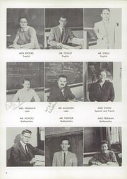 Page 10, 1958 Edition, Burris High School - Oracle Yearbook (Muncie, IN) online yearbook collection