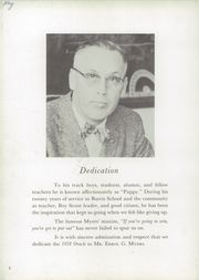 Page 6, 1958 Edition, Burris High School - Oracle Yearbook (Muncie, IN) online yearbook collection