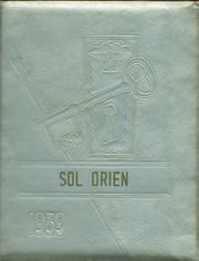 1959 Edition, Rising Sun High School - Sol Orien Yearbook (Rising Sun, IN)