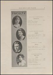 Page 11, 1920 Edition, Clinton High School - Old Gold and Black Yearbook (Clinton, IN) online yearbook collection