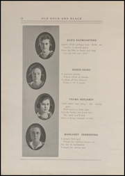Page 14, 1920 Edition, Clinton High School - Old Gold and Black Yearbook (Clinton, IN) online yearbook collection