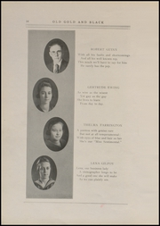 Page 16, 1920 Edition, Clinton High School - Old Gold and Black Yearbook (Clinton, IN) online yearbook collection