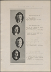 Page 17, 1920 Edition, Clinton High School - Old Gold and Black Yearbook (Clinton, IN) online yearbook collection
