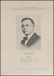 Page 7, 1920 Edition, Clinton High School - Old Gold and Black Yearbook (Clinton, IN) online yearbook collection