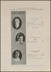 Page 9, 1920 Edition, Clinton High School - Old Gold and Black Yearbook (Clinton, IN) online yearbook collection