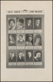 Page 13, 1923 Edition, Clinton High School - Old Gold and Black Yearbook (Clinton, IN) online yearbook collection