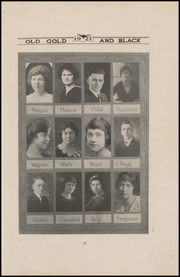 Page 15, 1923 Edition, Clinton High School - Old Gold and Black Yearbook (Clinton, IN) online yearbook collection