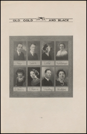 Page 17, 1923 Edition, Clinton High School - Old Gold and Black Yearbook (Clinton, IN) online yearbook collection