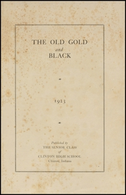 Page 5, 1923 Edition, Clinton High School - Old Gold and Black Yearbook (Clinton, IN) online yearbook collection