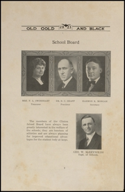 Page 6, 1923 Edition, Clinton High School - Old Gold and Black Yearbook (Clinton, IN) online yearbook collection