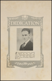 Page 7, 1923 Edition, Clinton High School - Old Gold and Black Yearbook (Clinton, IN) online yearbook collection