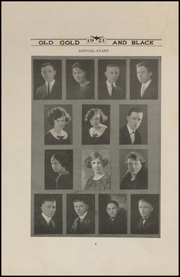 Page 8, 1923 Edition, Clinton High School - Old Gold and Black Yearbook (Clinton, IN) online yearbook collection
