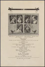 Page 14, 1927 Edition, Clinton High School - Old Gold and Black Yearbook (Clinton, IN) online yearbook collection