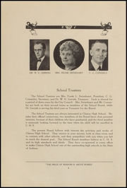 Page 8, 1927 Edition, Clinton High School - Old Gold and Black Yearbook (Clinton, IN) online yearbook collection