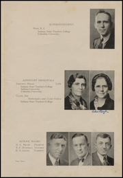 Page 7, 1935 Edition, Clinton High School - Old Gold and Black Yearbook (Clinton, IN) online yearbook collection