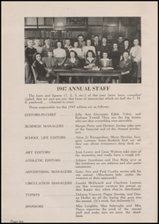 Page 14, 1947 Edition, Clinton High School - Old Gold and Black Yearbook (Clinton, IN) online yearbook collection