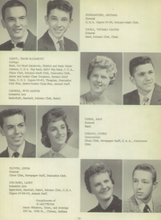 Page 15, 1959 Edition, Clinton High School - Old Gold and Black Yearbook (Clinton, IN) online yearbook collection