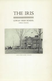 Page 5, 1917 Edition, Cowan High School - Iris Yearbook (Cowan, IN) online yearbook collection