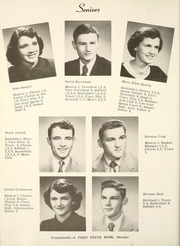 Page 16, 1952 Edition, Adams Central High School - Cen Trails Yearbook (Monroe, IN) online yearbook collection