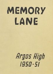 1951 Edition, Argos Community High School - Dragons Tale Yearbook (Argos, IN)