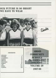 Page 5, 1988 Edition, Argos Community High School - Dragons Tale Yearbook (Argos, IN) online yearbook collection