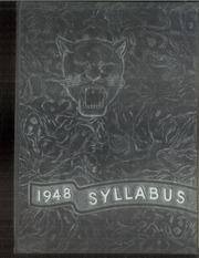 1948 Edition, Sheridan High School - Syllabus Yearbook (Sheridan, IN)