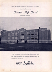 Page 5, 1951 Edition, Sheridan High School - Syllabus Yearbook (Sheridan, IN) online yearbook collection