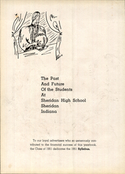 Page 6, 1951 Edition, Sheridan High School - Syllabus Yearbook (Sheridan, IN) online yearbook collection