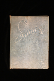 1952 Edition, Sheridan High School - Syllabus Yearbook (Sheridan, IN)