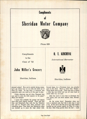 Page 72, 1952 Edition, Sheridan High School - Syllabus Yearbook (Sheridan, IN) online yearbook collection