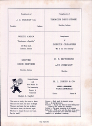 Page 85, 1952 Edition, Sheridan High School - Syllabus Yearbook (Sheridan, IN) online yearbook collection