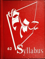 1962 Edition, Sheridan High School - Syllabus Yearbook (Sheridan, IN)