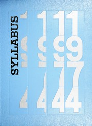 1974 Edition, Sheridan High School - Syllabus Yearbook (Sheridan, IN)