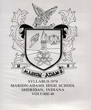 Page 3, 1974 Edition, Sheridan High School - Syllabus Yearbook (Sheridan, IN) online yearbook collection