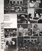 Page 4, 1974 Edition, Sheridan High School - Syllabus Yearbook (Sheridan, IN) online yearbook collection