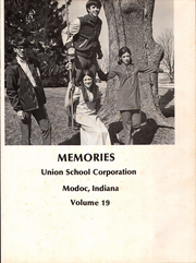 Page 5, 1971 Edition, Union High School - Memories Yearbook (Modoc, IN) online yearbook collection